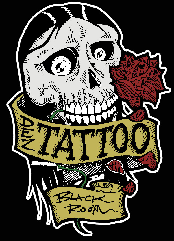 Tattoo shop logo for Best tattoo shops in baton rouge