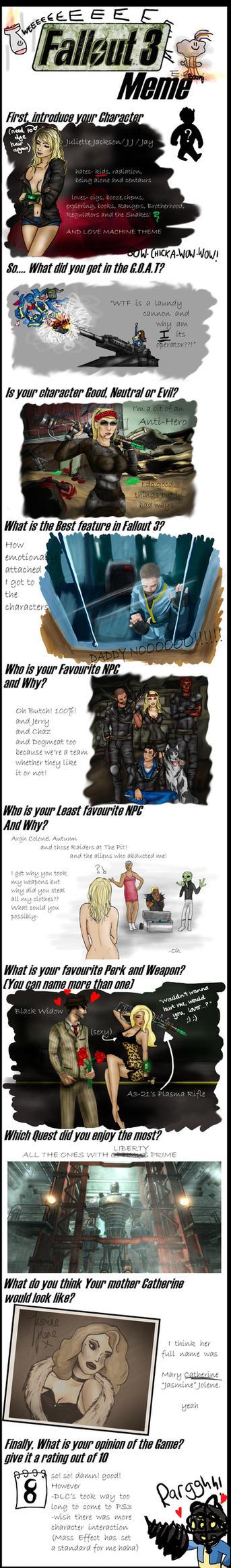 Fallout 3 meme by KellyLouX