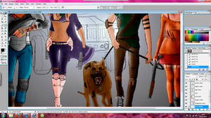 Scooby Doo-gritty reboot wip by KellyLouX