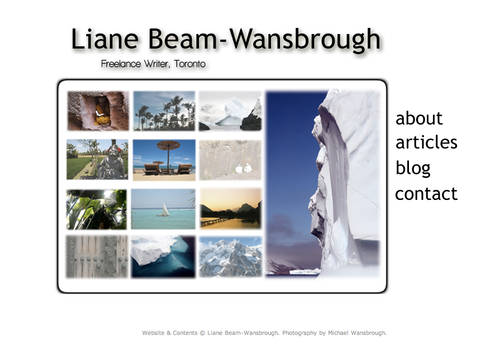 Liane Beam-Wansbrough Website