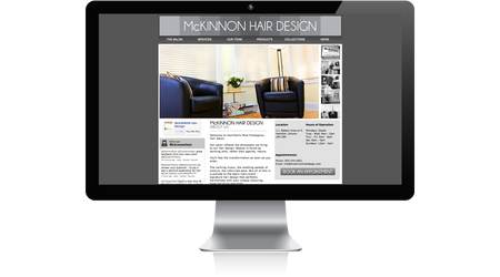 McKinnon Hair Design Website
