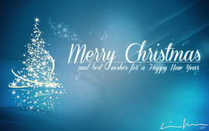 Merry Christmas Happy New Year 2015 (Wallpaper)