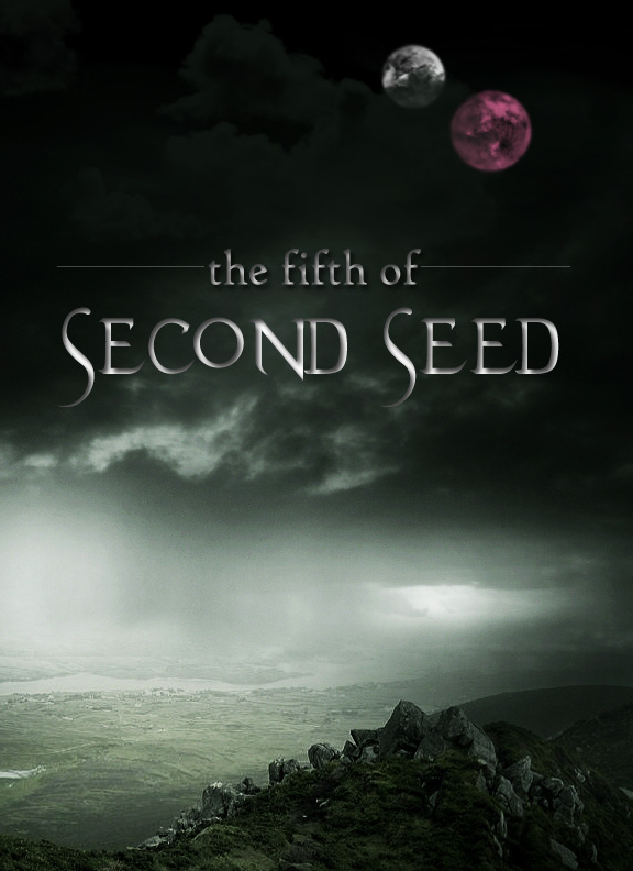 The Fifth of Second Seed - Fanfic Cover by Shockbox