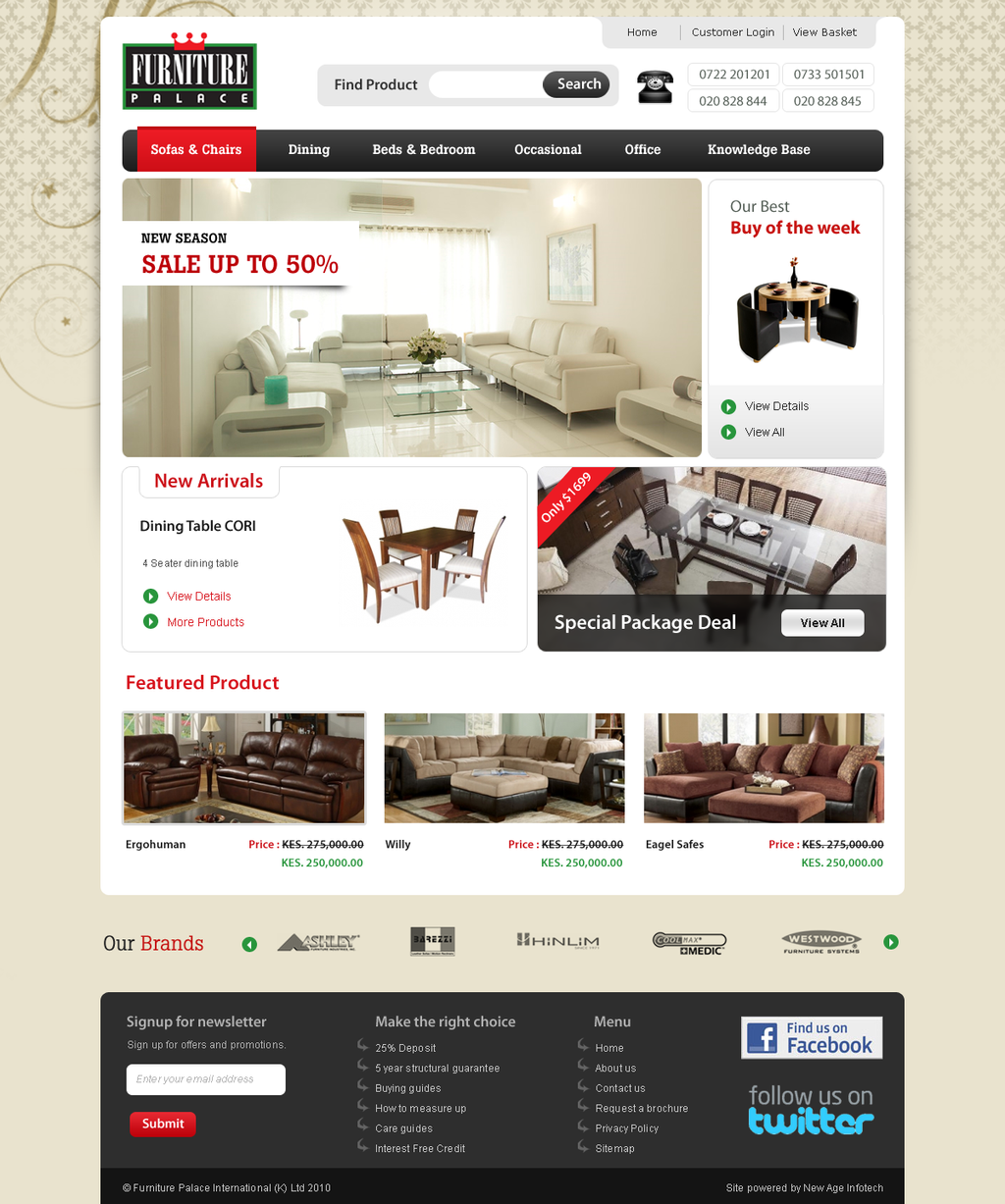 Furniture Web Sites: Furniture Website By Nealinfotech On DeviantArt