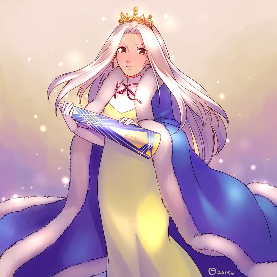 Queen Irisviel by magicalondine
