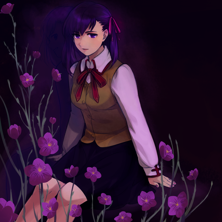 poisonous flower by magicalondine