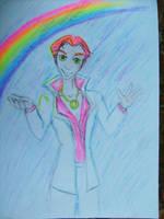 Finn and the rainbow by TiElGar
