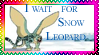 Winged Snow Leopard movie stamp by TiElGar