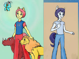 Equestria Boys from TF Headmasters