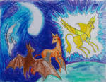 Crystals and horses by TiElGar