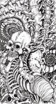 Tattoo Design: Bones