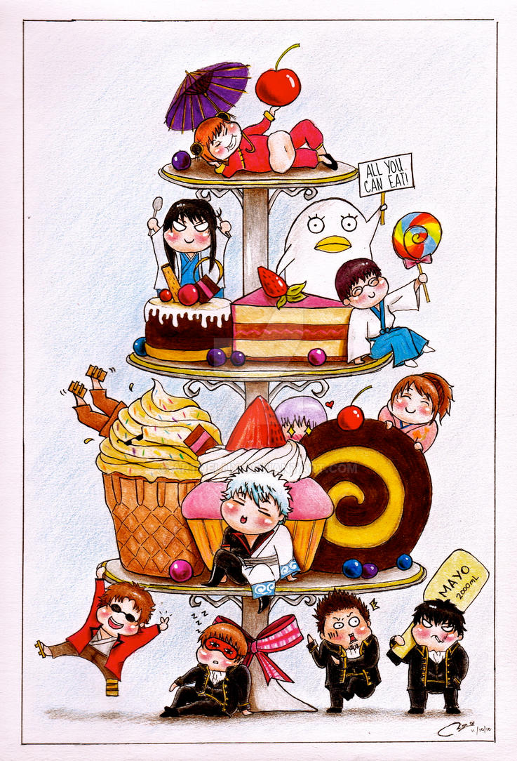Gintama's Sweets Wonderland by ArtDelux