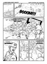 Page 1 Hero Born