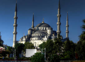 azure mosque by posiekk
