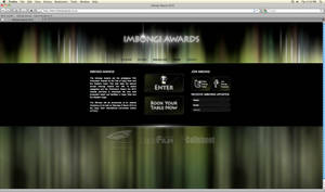 Imbongi Awards - Site Design