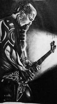 Kerry King of Slayer by StarvingArtist513