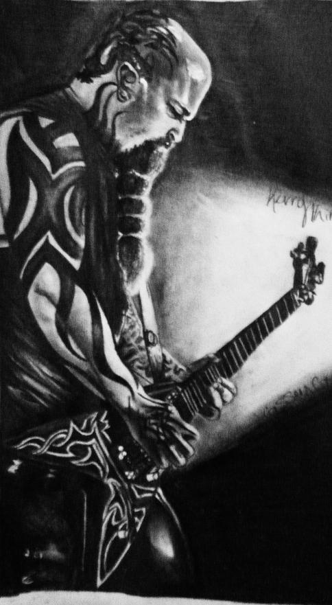 Kerry King of Slayer by StarvingArtist513 on DeviantArt