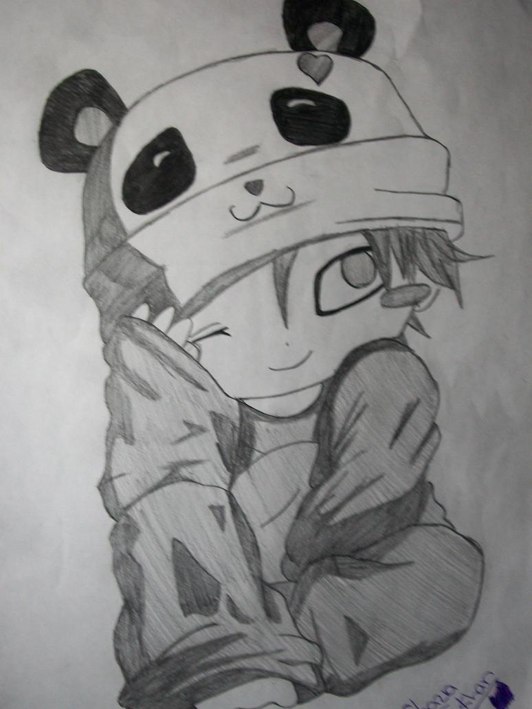 Chibi Panda Gaara by Anime-Lover0001 on DeviantArt Gaara Chibi Panda