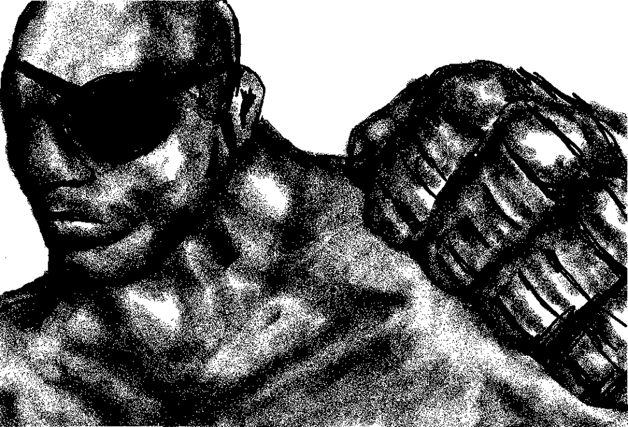 MS PAINT SAGAT by CHOWZ