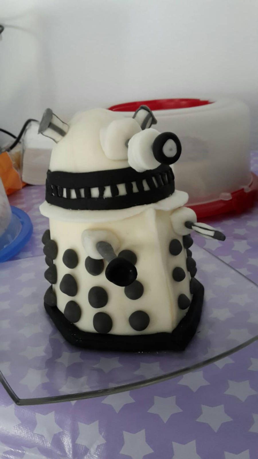 dalek cake by asm2019
