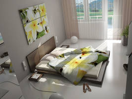 Architecture Interior Bedroom by mantasito