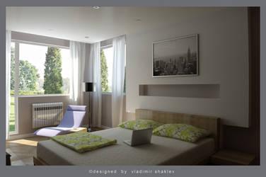 Bedroom simply by mantasito