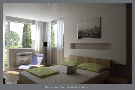 Bedroom simply