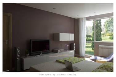 Bedroom simply 2 by mantasito