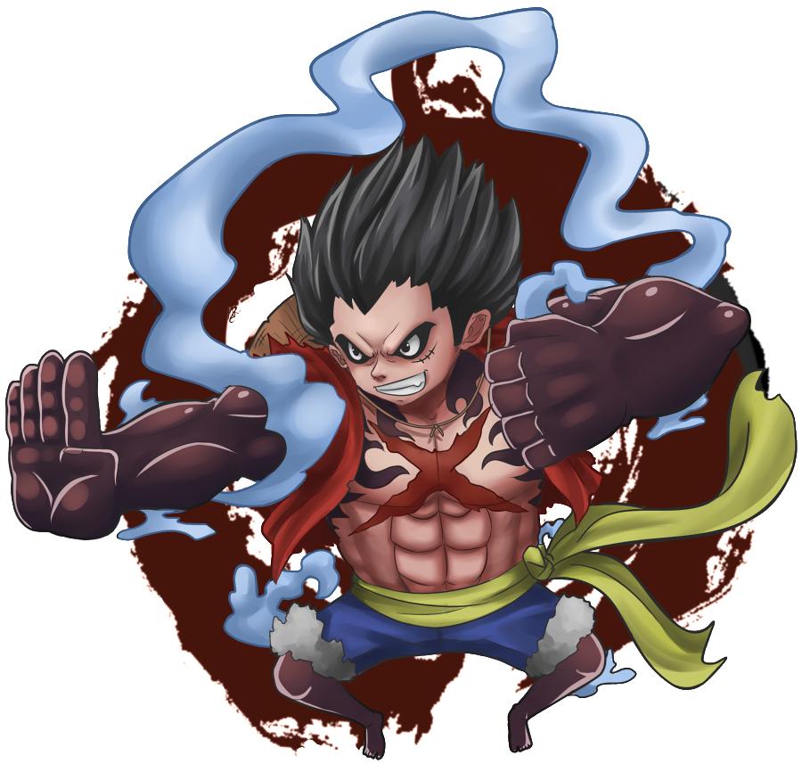 Luffy Gear 4 Tattoo: Gear4 Luffy By Senturi On DeviantArt
