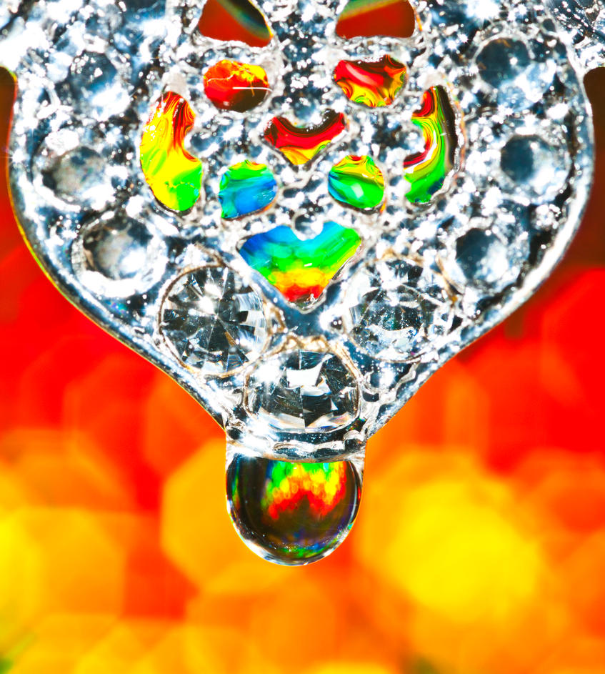 Diamond droplet by pqphotography
