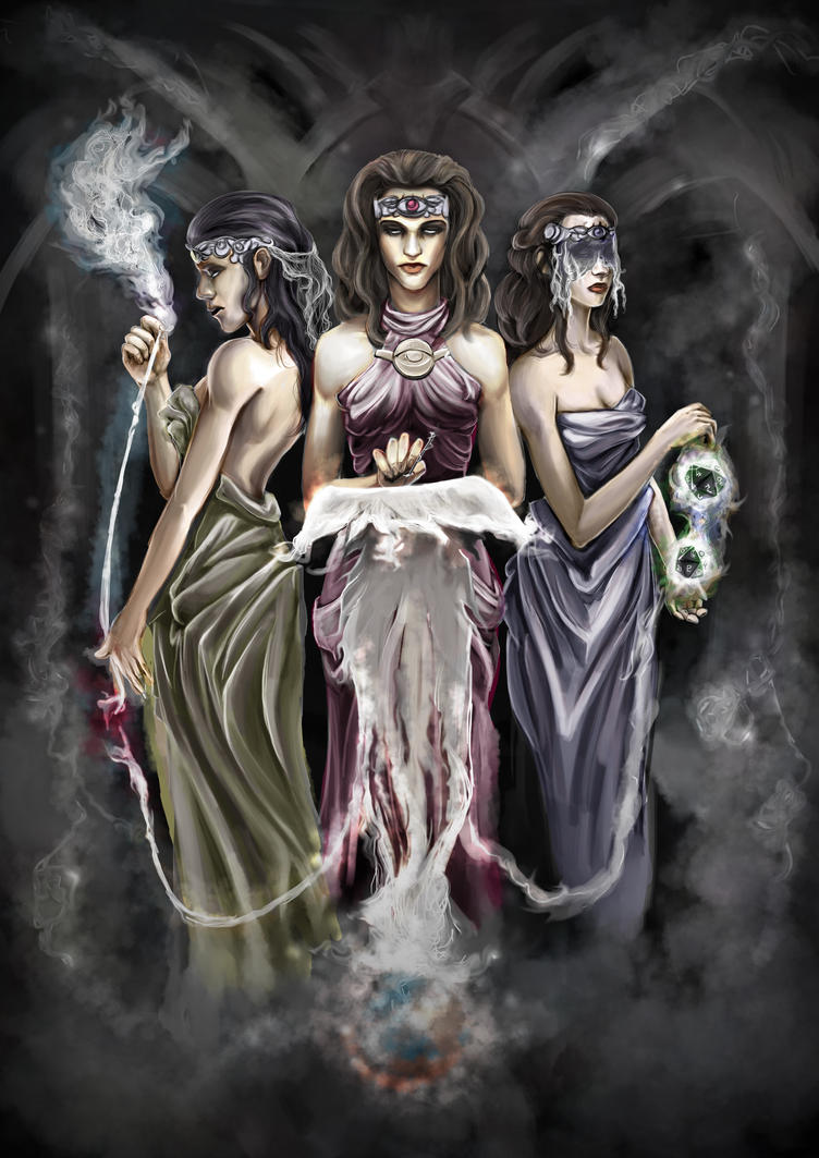 The Moirai, the Fates of Greek Mythology