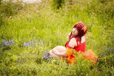 Lady Fiery - The Elements by AyumiHamasakichan