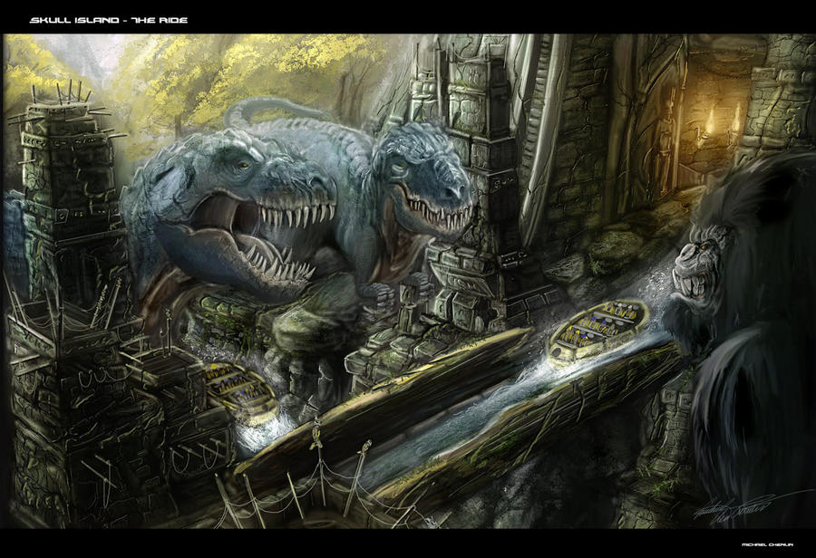 Kong Skull Island Carte