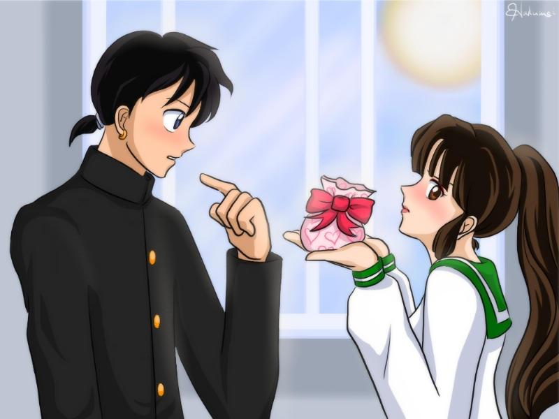 For... ME? by Tasuki-no-Miko