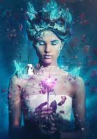 Belle and the enchanted rose by SecretDarTiste