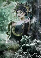Creatures and myths: Medusa