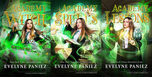 Premade trilogy Academy covers *SOLD*