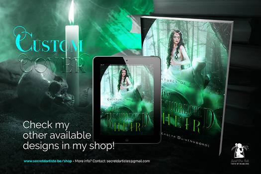 Custom cover for author Elizabeth Duivenvoorde