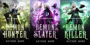 Vampire slayer trilogy *SOLD* by SecretDarTiste