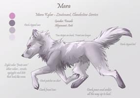 Character Sheet 6 - Mara by Kiarei-star