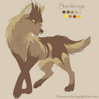 CharSheet 6- Sardonyx by Kiarei-star