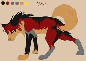 Revamp: CharSheet 1- Vexa by Kiarei-star