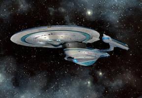 Enterprise-B by Merc-Raven