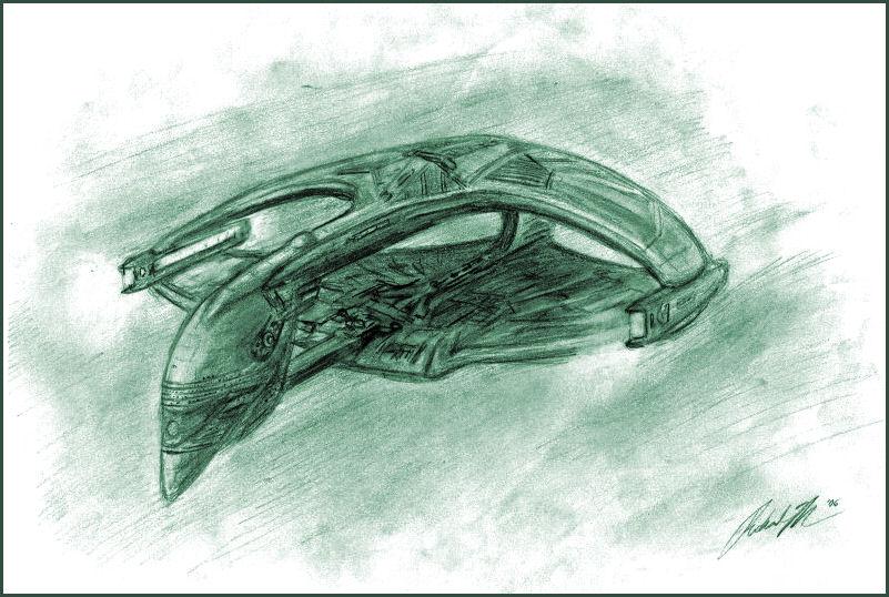 Romulan Warbird by Merc-Raven