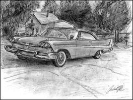 '58 Plymouth Belvedere by Merc-Raven