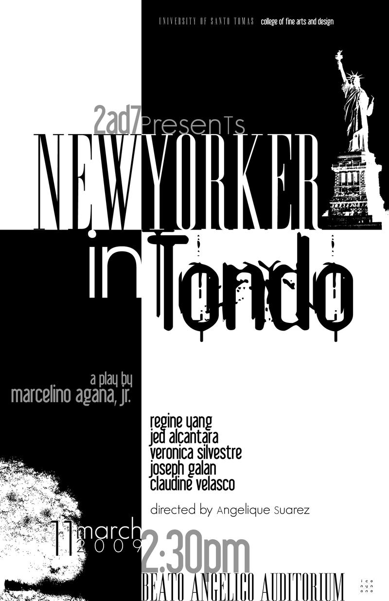 setting of new yorker in tondo Free sample english term paper on new yorker in tondo.