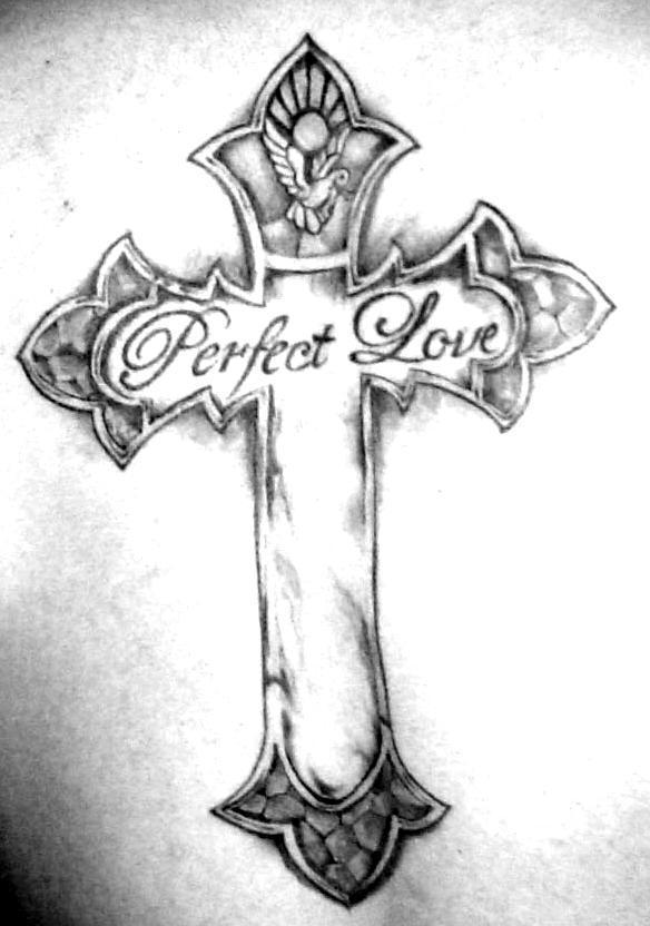Cross tattoo by zeuslander on deviantart