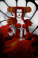 The Bloody Countess, Carmilla by DunpealChild
