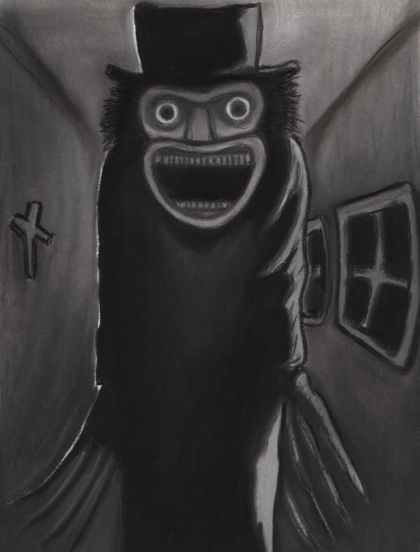 The Babadook By Charcoalman On Deviantart