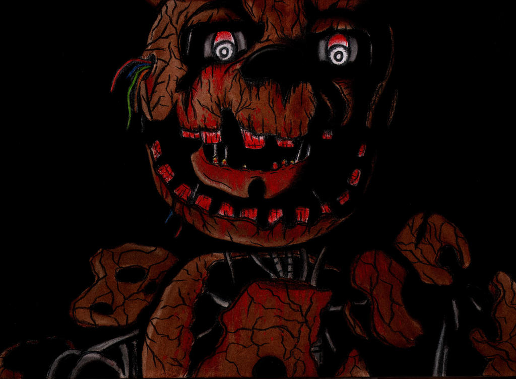 Five nights at freddy s 3 by charcoalman on deviantart